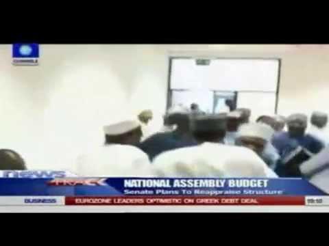 Video of APC Senators Fight Over Senate Leadership