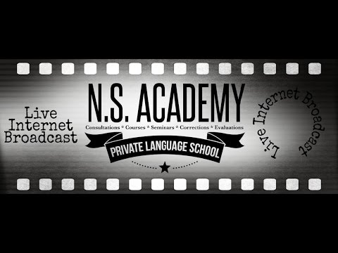 Native Speakers' Academy - Official Page Live Stream