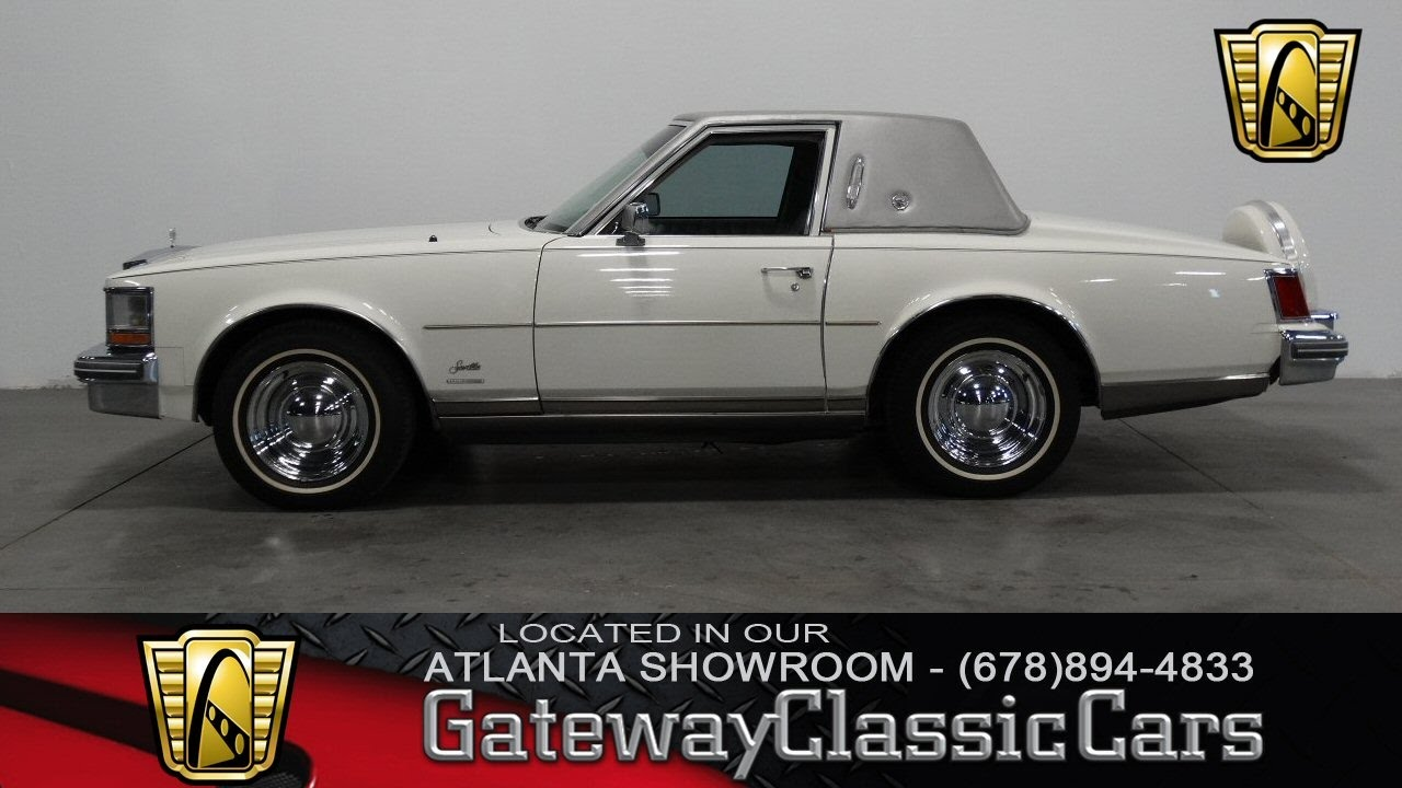 1979 Cadillac Seville Opera Coupe Gateway Classic Cars Of Atlanta
