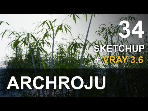 Repeat SketchUp - GPU vs CPU render VRAY 3 4 - Tutorial 33