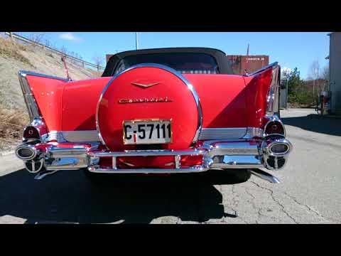 Chevrolet Belair 1957 Convertible