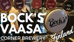 Bock's Corner Brewery Vaasa, Finland