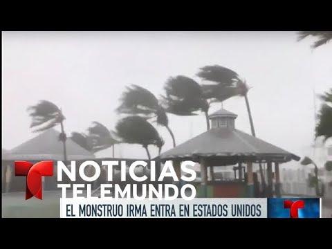 EN VIVO: Edición especial de Noticias Telemundo sobre la llegada de Irma a la Florida