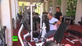Владимир Путин и Дмитрий Медведев провели тренировку под саундтрек к фильму