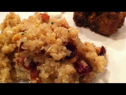 Cranberry And Almond Quinoa