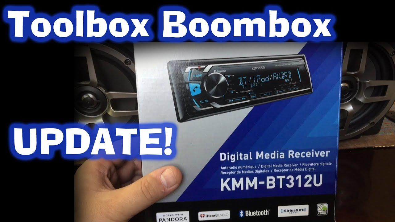 Kenwood Kmm Bt312u Toolbox Boombox Update Youtube Car Audio Wiring Diagrams Boss 870dbi