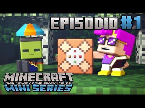 La Primera Noche | Minecraft Mini Series: El Reto De las Islas Tenebrosas | Episodio 1