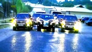 Свадьба в Шымкенте на Toyota Prado