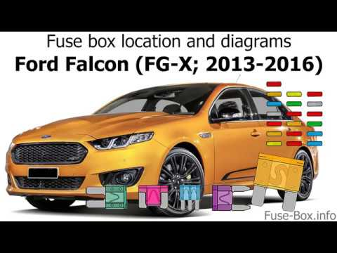[ZSVE_7041]  Fuse box location and diagrams: Ford Falcon (FG-X; 2013-2016) - YouTube | Ford Xr6 Fuse Box Diagram |  | YouTube