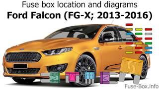 Fuse box location and diagrams: Ford Falcon (FG-X; 2013-2016) - YouTube | Ford Falcon Station Wagon Fuse Box |  | YouTube