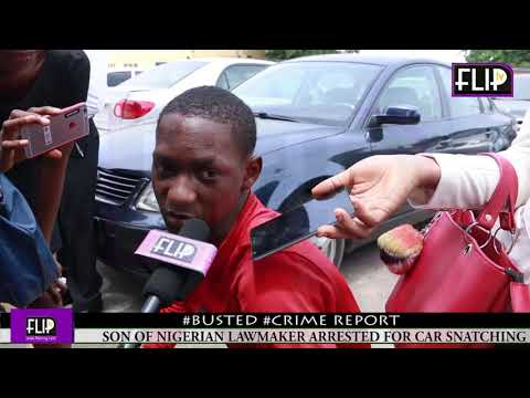 19-YEAR-OLD SON OF PDP LAWMAKER AND ACCOMPLICE ARRESTED FOR ROBBING UBER DRIVER+..........