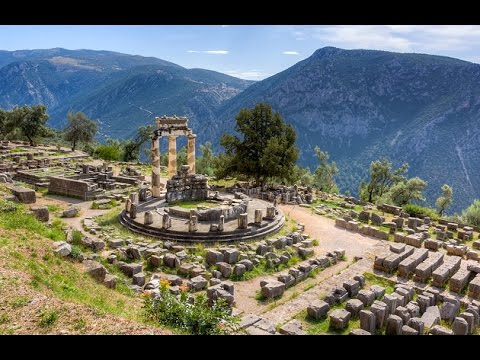 Beloved Apollo's gift to our Hearts, God of Renewal, Delphi and the Sacred Womb , Mount Parnassus