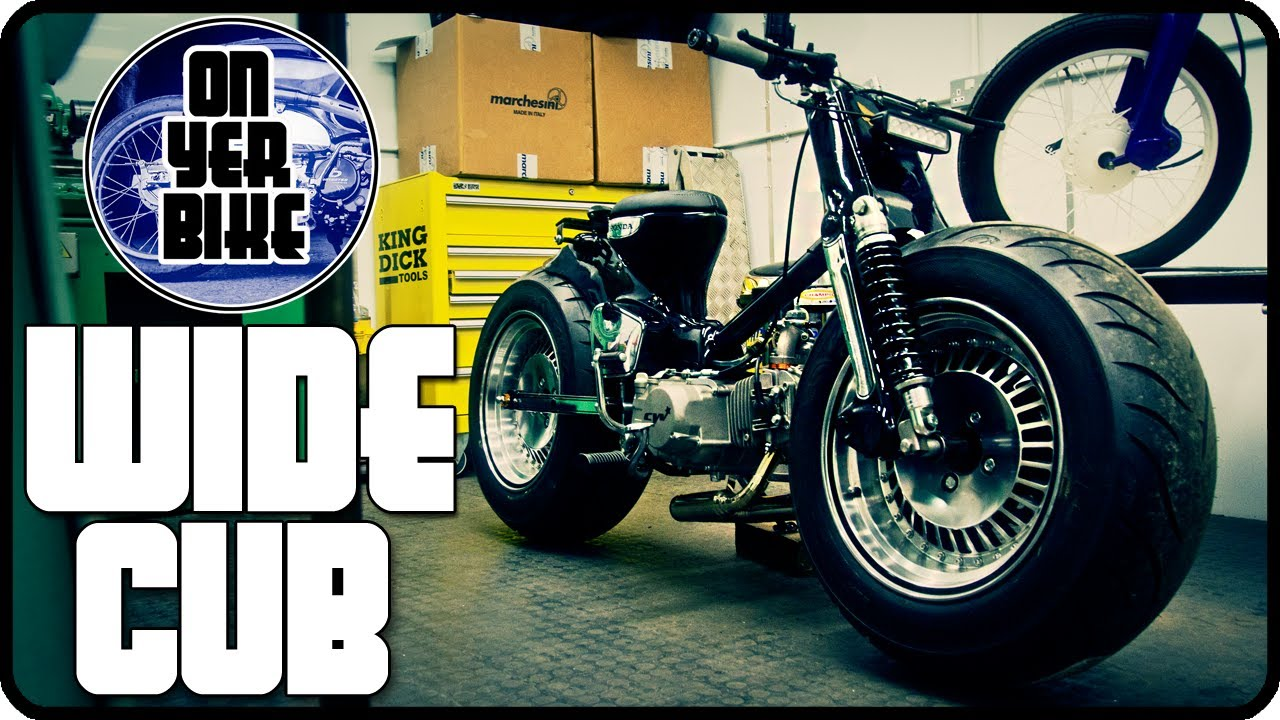 Super Fat Honda C50 Gary Winfield S Wide Cub Youtube
