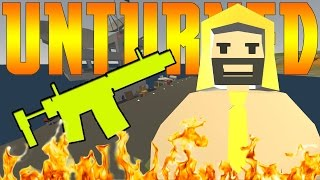 Unturned Funny Moments - THE KILL HOUSE! - And More -  w/Friends