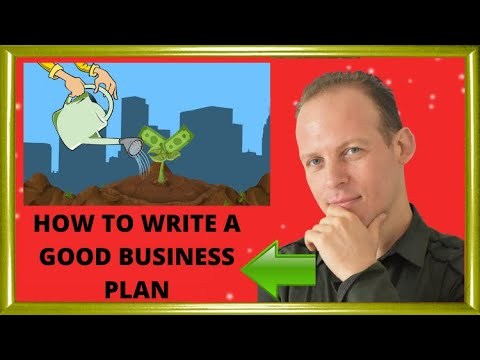 How to draft a good business plan