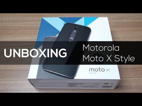 Moto X Style   Unboxing Brasil