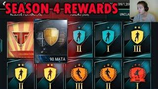 Season 4 Rewards + 90 Mata League Master   FiFa Mobile