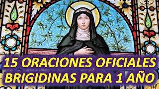 15 Oraciones OFICIALES BRIGIDINAS para 1 año (Oraciones de Santa Brígida de Suecia)