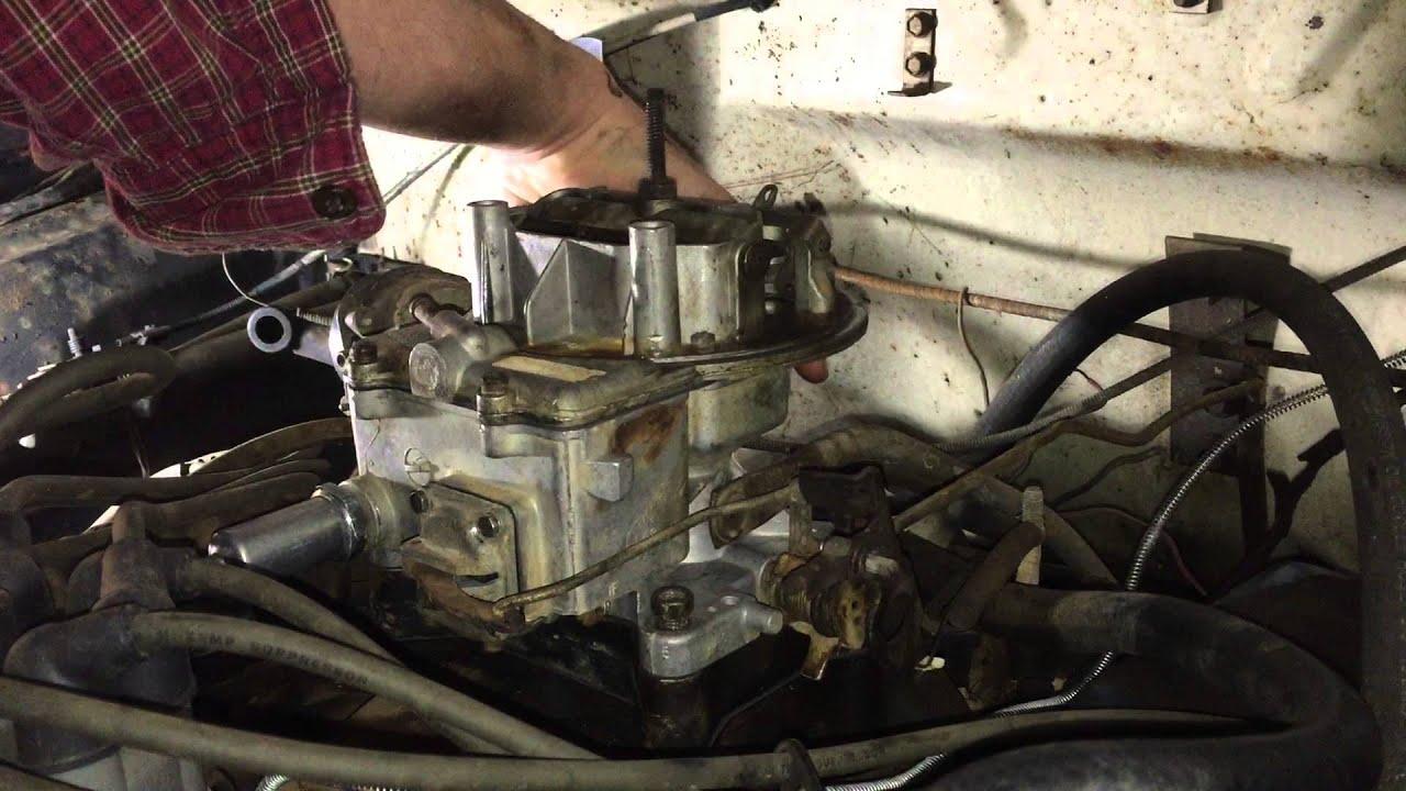 Motorcraft Rebuilt Carburetor Installation 302 Ford Youtube 1970 Vacuum Diagram