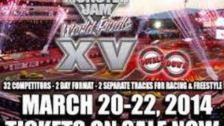 [ROBLOX] 4 Truck Freestyle Mini at World Finals XV! w/ Stevenator11