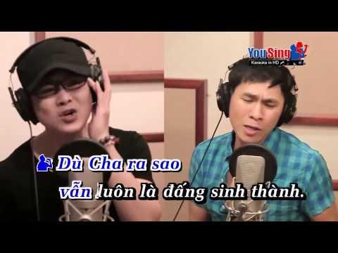 Karaoke: Đạo Làm Con.  Sáng tác: Quách Beem. 300 ca sĩ nghệ sĩ thể hiện.