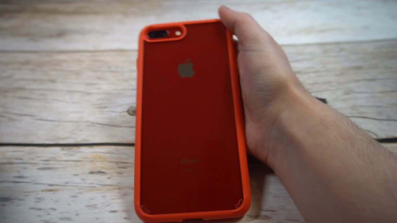 online retailer 2a2df 7699c Spigen Ultra Hybrid Clear With Red Bumper Case For iPhone 8 Plus Review