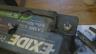 Как восстановить клемму на аккумуляторе, ремонт клеммы АКБ