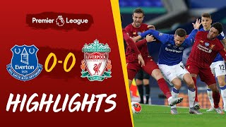 Highlights: Everton 0 0 Liverpool | Stalemate At Goodison | With Additional Atmosphere
