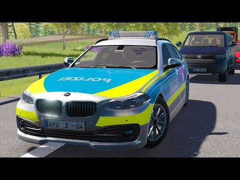 Autobahn Police Simulator 2 - Traffic accident while driving under the influence