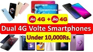 Dual Sim 4G VoLTE Phones in India January 2019  Under 10000 Rs, Happy New Year 2019  | Technical NG