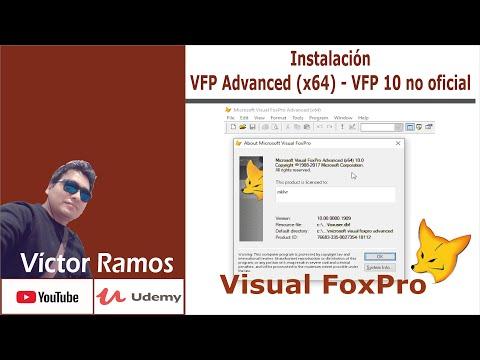 VFP Advanced, Un VFP10 No Oficial - Compilando Y Ejecutando A 64 Bits   Visual FoxPro