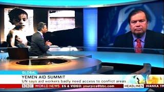 BBC interviews UNHCR's William Spindler on Yemen