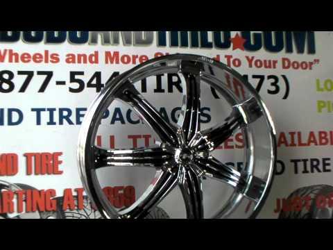www.DUBSandTIRES.com Effen Wheels Hurricane 28 Inch Chrome Effen Rims & Tire Packages