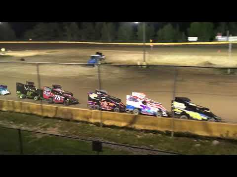 RJ Sherman Racing #22R Feature Race Hamlin Speedway 8/25/18