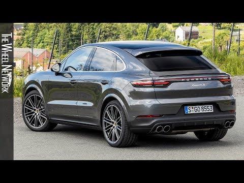 2020 Porsche Cayenne S Coupe Quarzite Grey Metallic Exterior Interior Youtube