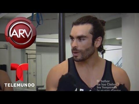 Gonzalo García Vivanco muestra rutina de calistenia  Al Rojo Vivo  Telemundo