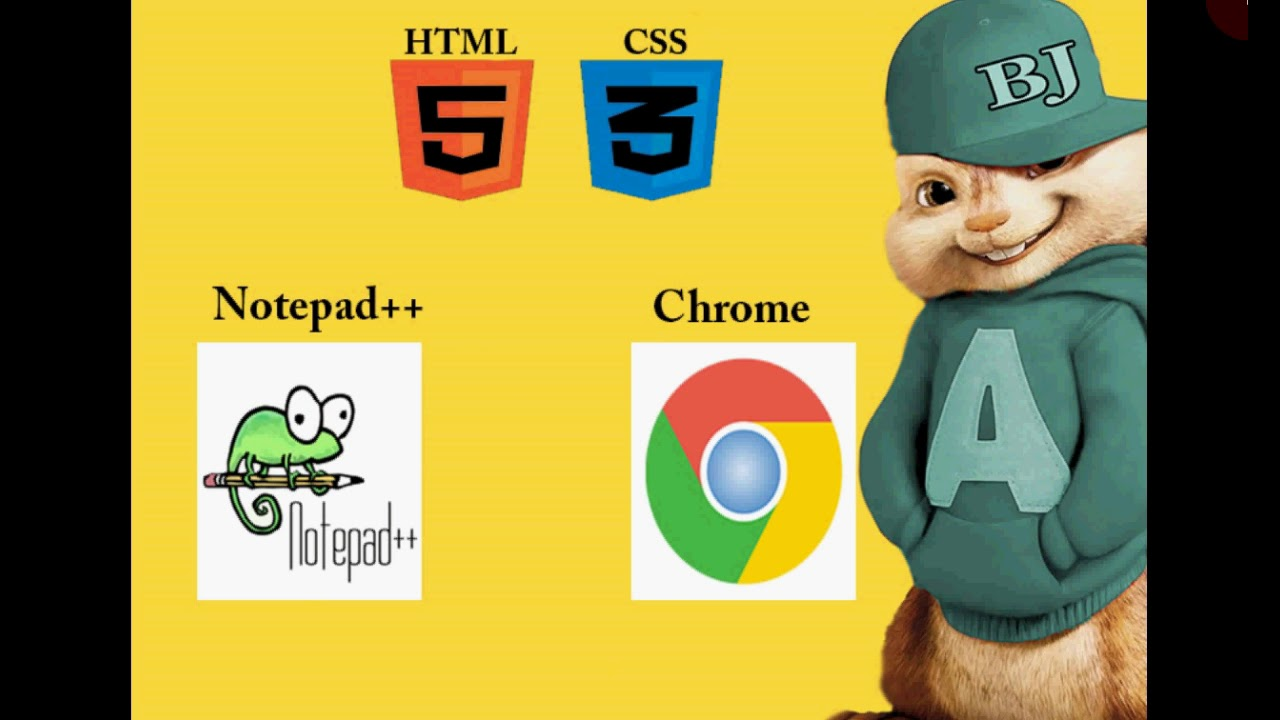 HTML5 And CSS3 Basic Tutorial 1- Install Notepad++, Introduction In Urdu