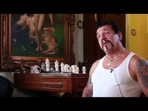 Chuck Zito  at Sonny Bargers House