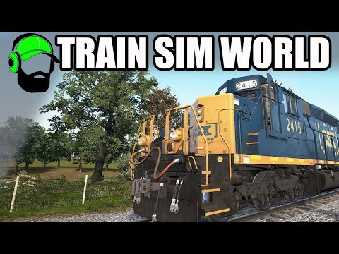 Train Sim World CSX Heavy Haul - Exploring in Service Mode