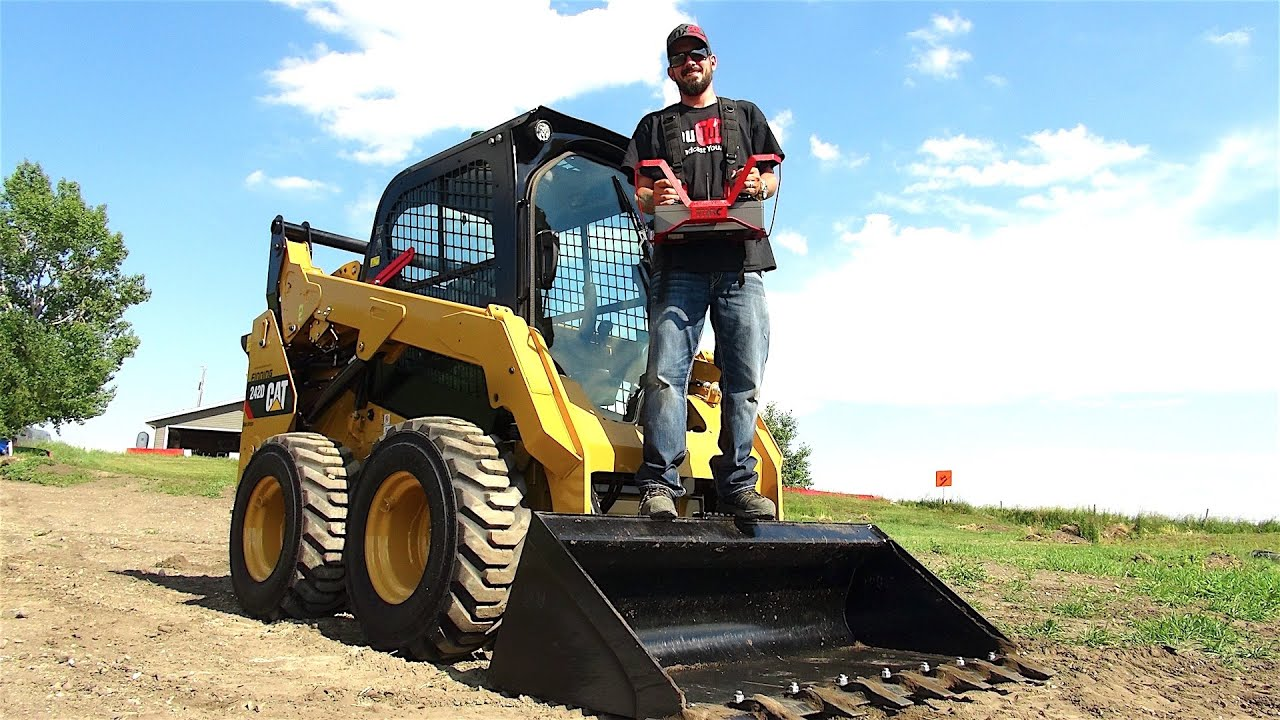 The LARGEST RC I've Operated - FULL SiZE Radio Control SKiD STEER | RC  ADVENTURES