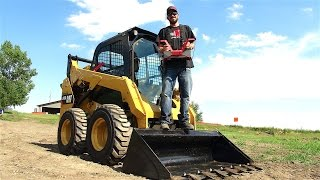 RC ADVENTURES - LARGEST RC I've Operated - FULL SiZE Radio Control SKiD STEER