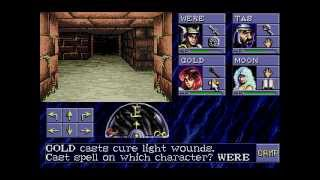 Advanced Dungeons & Dragons Eye of the Beholder (SEGA CD) Part 1