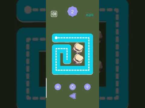 한줄로 퍼즐(One Line Connect Puzzle) 홍보영상 :: 게볼루션