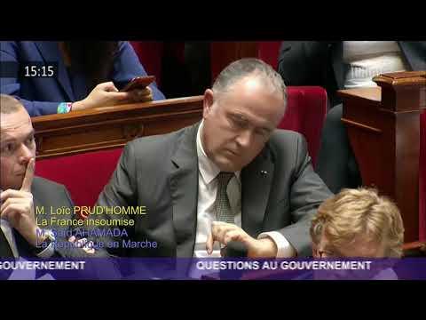 """PESTICIDES : Loïc Prud'homme (FI) dénonce une """"bombe sanitaire à retardement"""""""