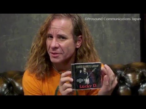 "Chris Duarte - Interview about his Guitar & New CD - Chris Duarte Group "" Lucky 13 Japan Tour"" 2015"