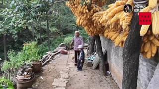 【盧保貴視覺影像】94歲老太太吃上了西瓜視頻贈送的中秋月餅,看老人高興的樣?