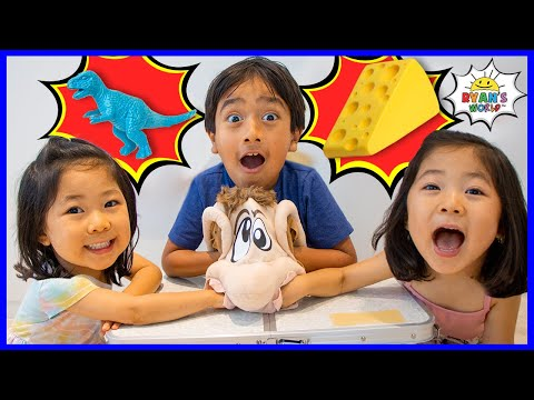 What's in Ned's Head Family Fun Board game with Ryan!