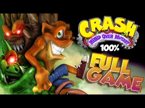 Crash: Mind Over Mutant FULL GAME 100% Longplay  (X360, PS2, Wii, PSP)