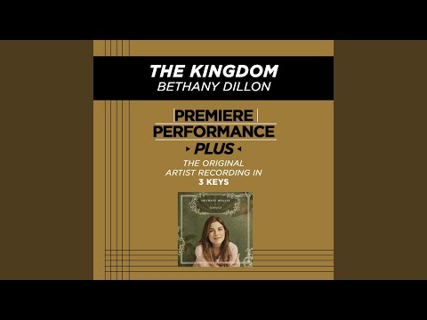The Kingdom (Low Key-Premiere Performance Plus w/o Background Vocals)