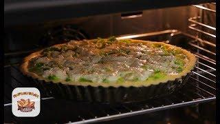 Французский пирог киш с брокколи и сыром   Рецепт